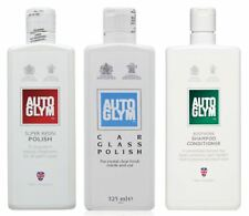 Genuine Autoglym Summer Car Care Pack Paint Restore and Protect Cleaning Kit.