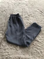 J. Crew Style B8523 Gray High Rise Elastic Waist Shirt Tail Hem Rese Pants 4