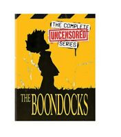 The Boondocks: Complete Series, Seasons 1-4  (DVD, 11-Disc Set) USA SELLER.