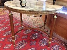 Table basse en laiton et bronze style Jansen