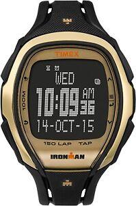 Timex Men's Ironman Sleek 150 TapScreen Chronograph Running Sports 46mm Watch