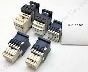 Contactors LP1K0901BD LP1K0910BD LC1D32B7 LC1D18B7 Aux LA1KN40 LADN22 - #SP1157