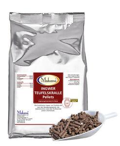 Makana Ingwer/Teufelskralle Pellets für Tiere, 1,5 kg Beutel