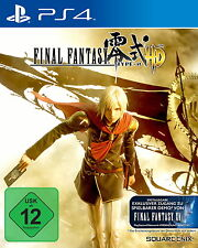 Final Fantasy Type - 0 HD (Sony Playstation 4, 2016) NUOVO OVP