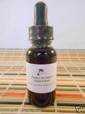 Tongkat Ali 200:1 - Liquid Extract Tincture - 1oz or 30ml (Pasak bumi) Longjack