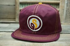 Vintage STAUFFERS SEED SnapBack Trucker Hat Cap Patch K PRODUCTS Made in USA
