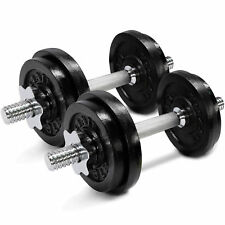 Yes4All Adjustable Dumbbells Weights 40 Lbs Set of 2 Fitness Gym Workout