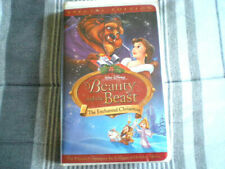 Beauty and the Beast - The Enchanted Christmas Special Edition (VHS) Disney