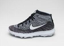 Nike Wmns Flyknit Chukka 819006-001 Women's Sneaker Run Shoes New Grey Gr.36, 5