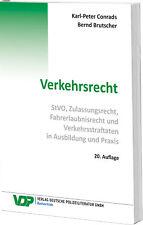 Verkehrsrecht Conrads, Karl-Peter Brutscher, Bernd VDP-Fachbuch