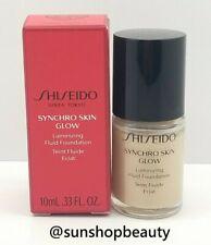 Shiseido Synchro Skin Glow Luminizing Fluid Foundation Neutral 2 (N2) 10ml