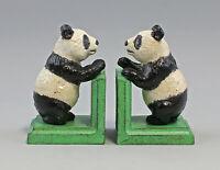 9973439 Ghisa Figura Supporto Rubrica Panda-Bären Colorato 13x8x9cm