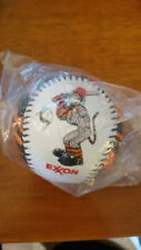 EXXON TIGER PROMOTIONAL BASEBALL NEW NEVER USED EXXON OIL PROMO