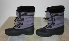 Women's Kamik Boots & Liners (9) Purple & Black. (Canada)