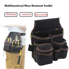 Multi Electrician Tool Bag Waist Pocket Pouch Belt Storage Holder Maintenance h8