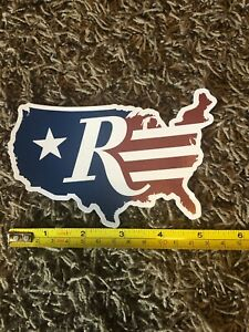 "Remington Flag Map Firearms US Flag Decal Sticker Approx 5.5"" Shot Show 2020"