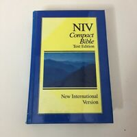 NIV Compact Bible Text Edition New International Version by Zondervan Hard Back