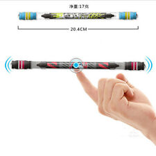 Hot Non Slip Coated Spinning Pen Champion Rolling Ball Point Pen Finger Playing