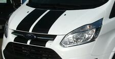FORD TRANSIT CUSTOM Bonnet Stripe gloss vinyl || Decal Sticker || Pre Cut
