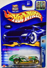 Hot Wheels 2003 Track Aces I Candy #146 Green Factory Sealed