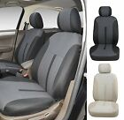 A161 Grey Fabric 2 Front Bucket Car Seat Covers Compatible To Toyota Corolla