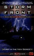 Storm Front (The Dresden Files, Book 1) by Butcher, Jim, Good Book