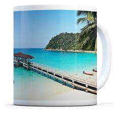 Perhentian Islands - Drinks Mug Cup Kitchen Birthday Office Fun Gift #16670