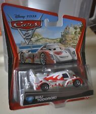 DISNEY PIXAR CARS 2 SHU TODOROKI # 22 NEW NEW