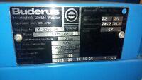 Buderus Ölheizung Kessel, Brenner, Entkalkungsanlage - Baujahr 92 Typ S315 28kW