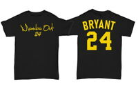 Kobe Bryant Shirt GOAT Mamba Out Los Angeles Basketball TEE Unisex 24