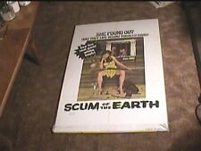 SCUM OF THE EARTH 1974 ORIG MOVIE POSTER WILD EXPLOITATION