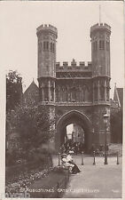 Postcard Canterbury Kent the St Augustine's Gate posted 1912 RP by Bells Photo