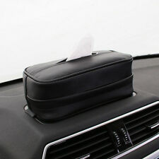 PU Leather Tissue Box Auto Car Paper Napkin Holder For Tissue Storage Case Tool