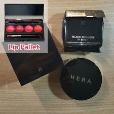 [HERA] NEW Black Cushion #21 Vanilla SPF34/PA++ (15g + Refill) + Lip Pallet
