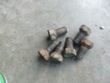 6) John Deere A tractor 1946 Jd front wheel hub stud bolts bolt for rims to hub