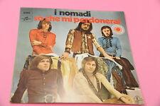 "SOLO COPERTINA NOMADI 7"" SO CHE MI PERDONERAI ORIG '60 EX !!!!!!!!!!!!!!"
