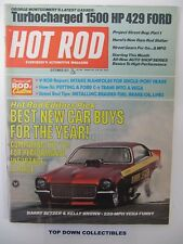 Hot Rod Magazine  September 1971  Best New Car Buys For The Year