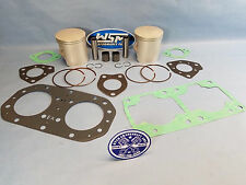 KAWASAKI 650 SX X2 SC TS WATERCRAFT PWC TOP END REBUILD KIT PISTONS 1MM OVER