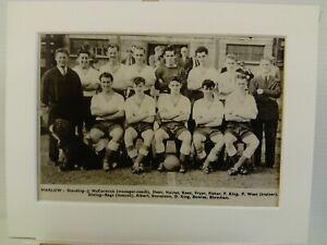 Amateur football team print  MARLOW F.C.