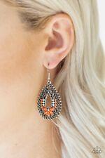 Paparazzi  ~Atta-GALA - Orange~ Earrings Gorgeous New Release! Summer! Coral