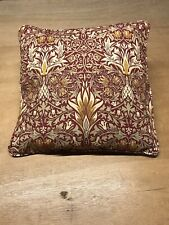 "Genuine William Morris Snakeshead  16"" Cushion, Piped, Zipped Inc Pad"