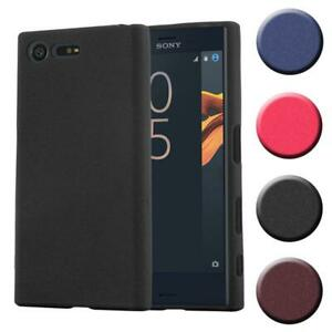 Custodia Cover Silicone per Sony Xperia X Compact TPU Case Bumper Guscio