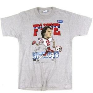 Vintage Doug Flutie New England Patriots T-Shirt Unisex Cotton Reprint TK4482