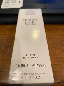 """ARMANI CODE PROFUMO by GIORGIO ARMANI 2fl.oz """"TSTR"""" New"""