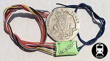 DCC Decoder 2 function New 2A/1A bare wire N HO OO Laisdcc £10 each for 3+.