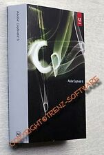 neu: Adobe Captivate 6 Macintosh Vollversion deutsch Box+DVD  - MwSt.