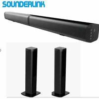 TV Soundbar Wireless Bluetooth5.0 Speaker FM Radio HometheaterLED Display+Remote