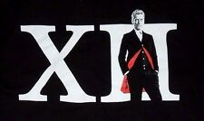 NEW Doctor Who Roman Numeral 12th Men's  T-shirt Adult  Size M
