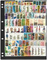 Malta 100 Different Stamps All Mint Complete Sets In Glassine Bag 13-9