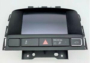 OEM 12-17 Buick Verano Driver Information Display Screen Hazard Trunk Switch